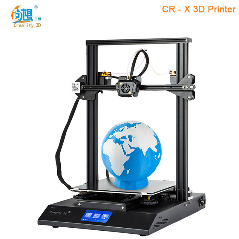 Creality3D CR - X Quickly Assemble 3D Printer DIY Kit High Precision Max 300 x 300 x 400mm Priority Line Original 3D Printer creality3d cr 10s 3d printer