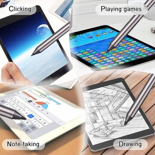 Aktywny rysik pojemnościowy ekran dotykowy wskazówka dla Dell xps12 xps13-9365 PN556W Windows 8 10 Tablet dotykając Stylus