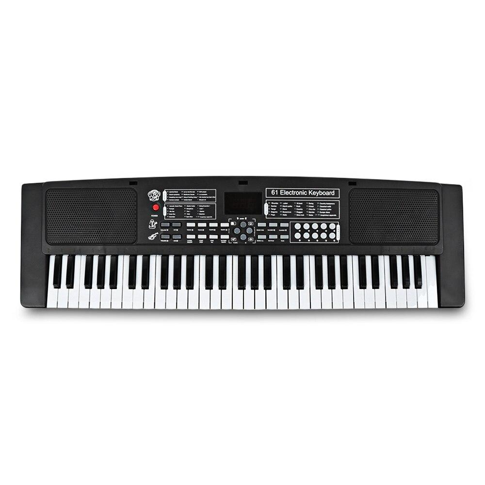 61 clés enfants orgue électronique Instrument de musique jouet pour enfants