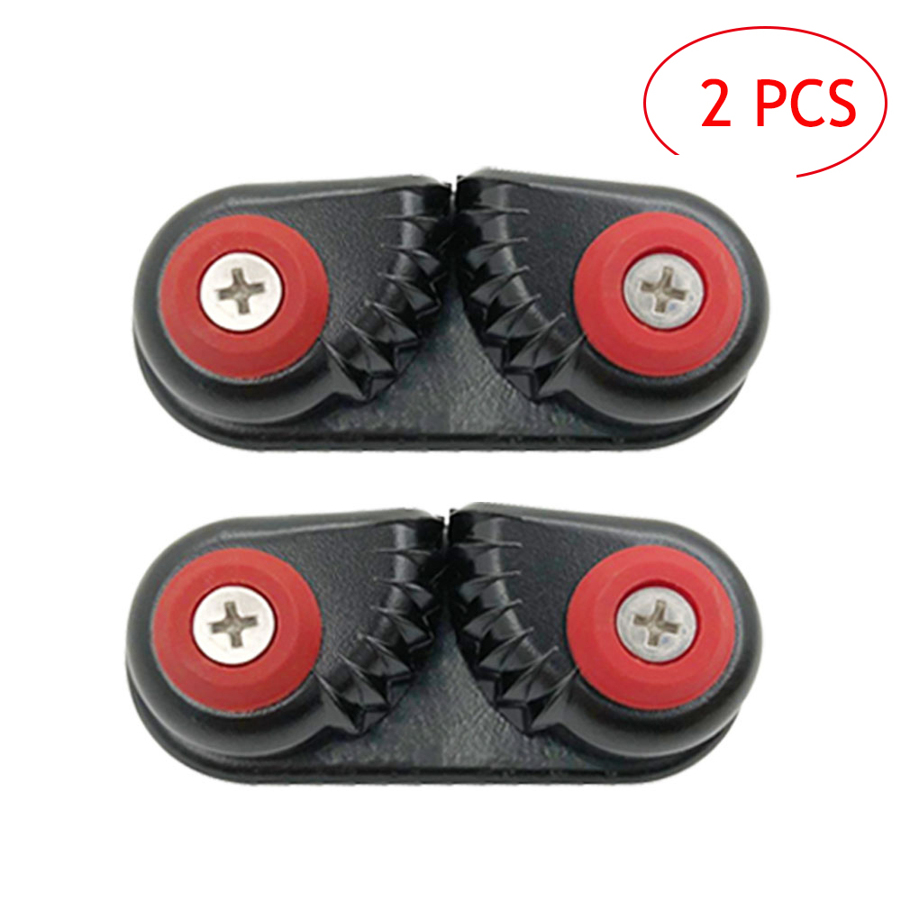 2PCS Kayak Cam Cleat Kayak Accessories Boat Canoe Sailing Boat Dinghy Aluminum Cam Cleats Fast Entry Kayak Cleats