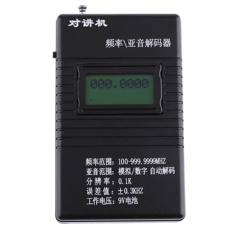RK560 Schwarz Frequenz Zähler DCS CTCSS Radio Prüfung Meter Zähler Tester