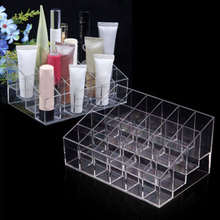 Acrylic Multifunctional Makeup Tool Kit Lipstick Nail Polish Cosmetics Box Jewelry Necklace Storage Case