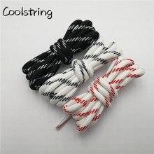 Coolstring 5,5 мм круглые шнурки спортивные черные белые красные шнурки для обуви унисекс повседневные шнурки для обуви, громоздкие кроссовки обувь для Пап