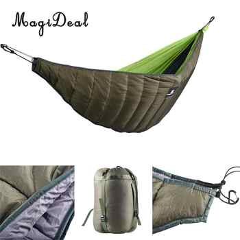 MagiDeal Outdoor Full Length Hammock Underquilt Ultralight Winter Under Quilt Blanket for Camping Hiking Backyard Accessories - DISCOUNT ITEM  22% OFF Sports & Entertainment