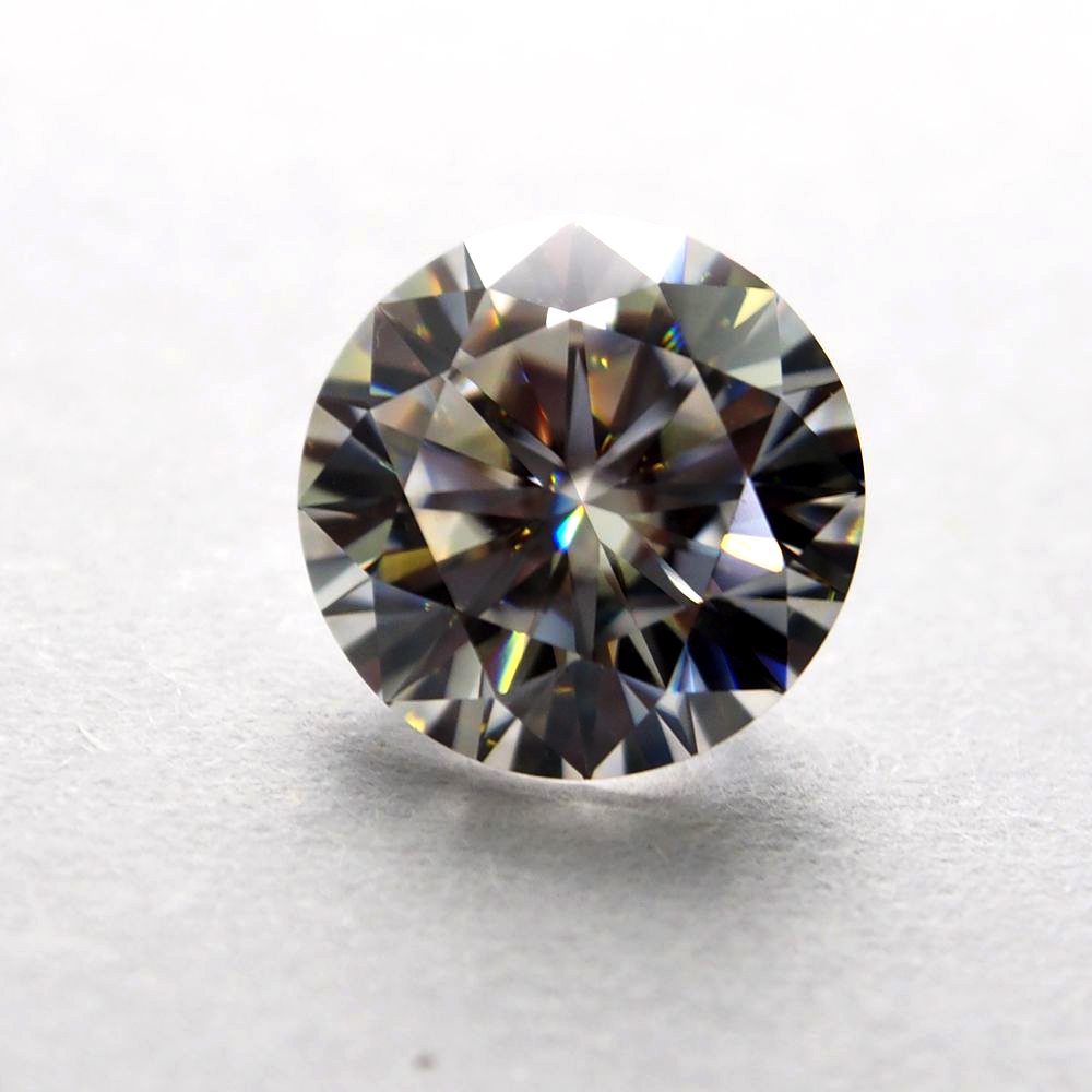 9mm DEF Round White Moissanite Stone Loose Moissanite Diamond 3 0 carat for Wedding Ring