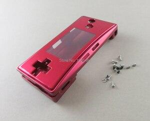 Image 3 - 1pcs Cover di Ricambio caso di Borsette per GameBoy Micro GBM Faceplate 5 colori Borsette vite