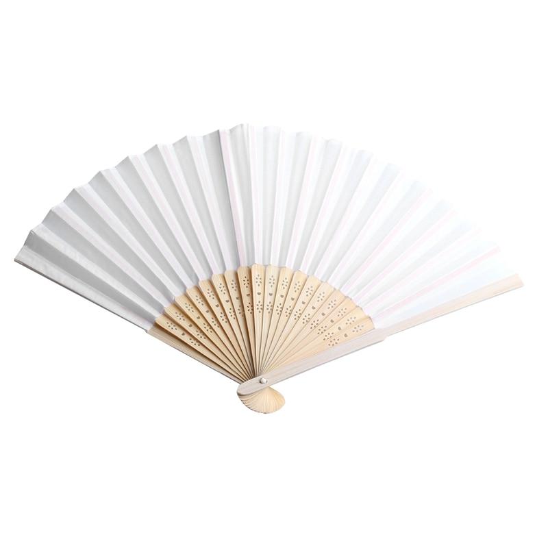 100 pcs/lot personalized silk hand fan silk wedding fan with organza gift bag(white)100 pcs/lot personalized silk hand fan silk wedding fan with organza gift bag(white)