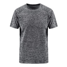 Plus Size 7XL 8XL Sexy T Shirt Men Solid Color Quick-drying Breathable Short Sleeve Mens Fitness T-shirt High Quality Tops Tees