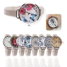 Brand Women Creative  Watch Fashion Casual Ladies Silver Mesh Quartz Dress Wristwatches Relogio Feminino Hot