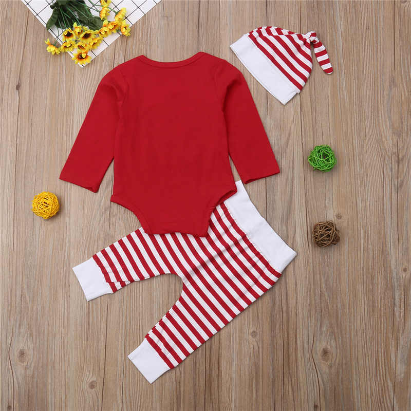473daf42e70 ... Xmas Baby Girl Clothes Set My First Christmas Kid Party Outfit New Year Costume  Bodysuit+