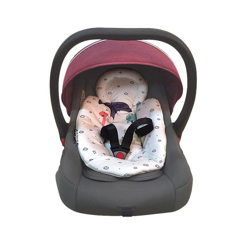 Newborn Stroller Basket Cotton Pad Electric Rocking Chair Comfortable Cotton Pad Safety Seat Kid Rocking Chair Warm Non-slip Mat