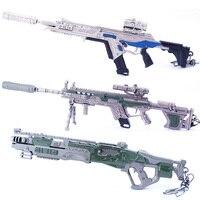 10 pcs /lot Hot Games APEX Legends Figures Toy APEX Legends Hero Gun Model Keychain Set Pendant Accessories 21cm