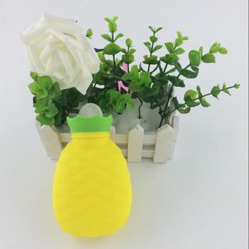 Fruta lindo caliente botella de agua a prueba de explosión de agua caliente bolsa Mini cálido útero de mano portátil calentadores