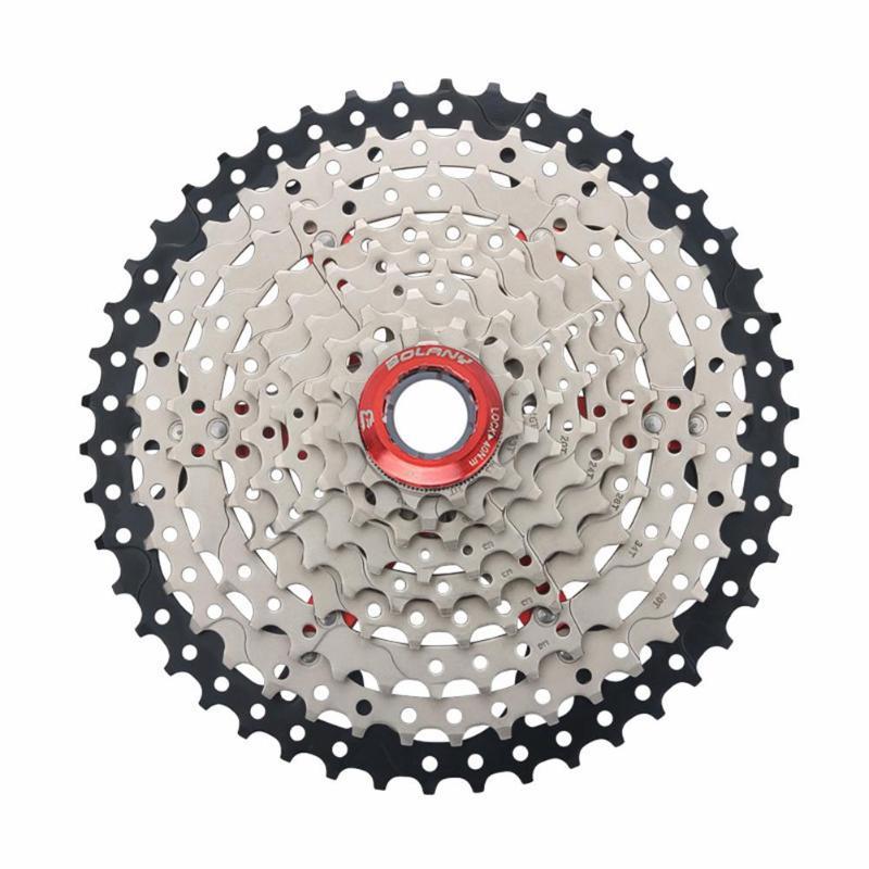 9 Speed Cassette 11 46T Wide Ratio Freewheel MTB Bicycle Mountain Bike Cassette Flywheel Sprocket Compatible