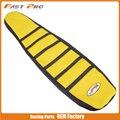 Мотоцикл Pro Rib желтый резиновый ребристый захват мягкий резиновый чехол для сиденья для SUZUKI DRZ400 00-15 01 02 03 04 05 06 Байк