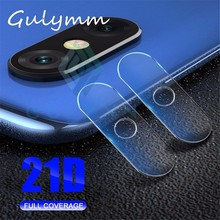 2PCS 21D Back Camera Lens Screen Protector Film Tempered Glass For Xiaomi Mi A2 8 Lite Redmi 6 Pro 6A 5 5 Plus Note 5 6 Pro 7 все цены
