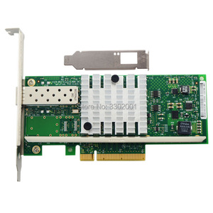 Image 2 - Fanmi X520 DA1 10 gbase pci express x8 82599 en chip único porto ethernet rede adaptador e10g41btda, sfp não incluído