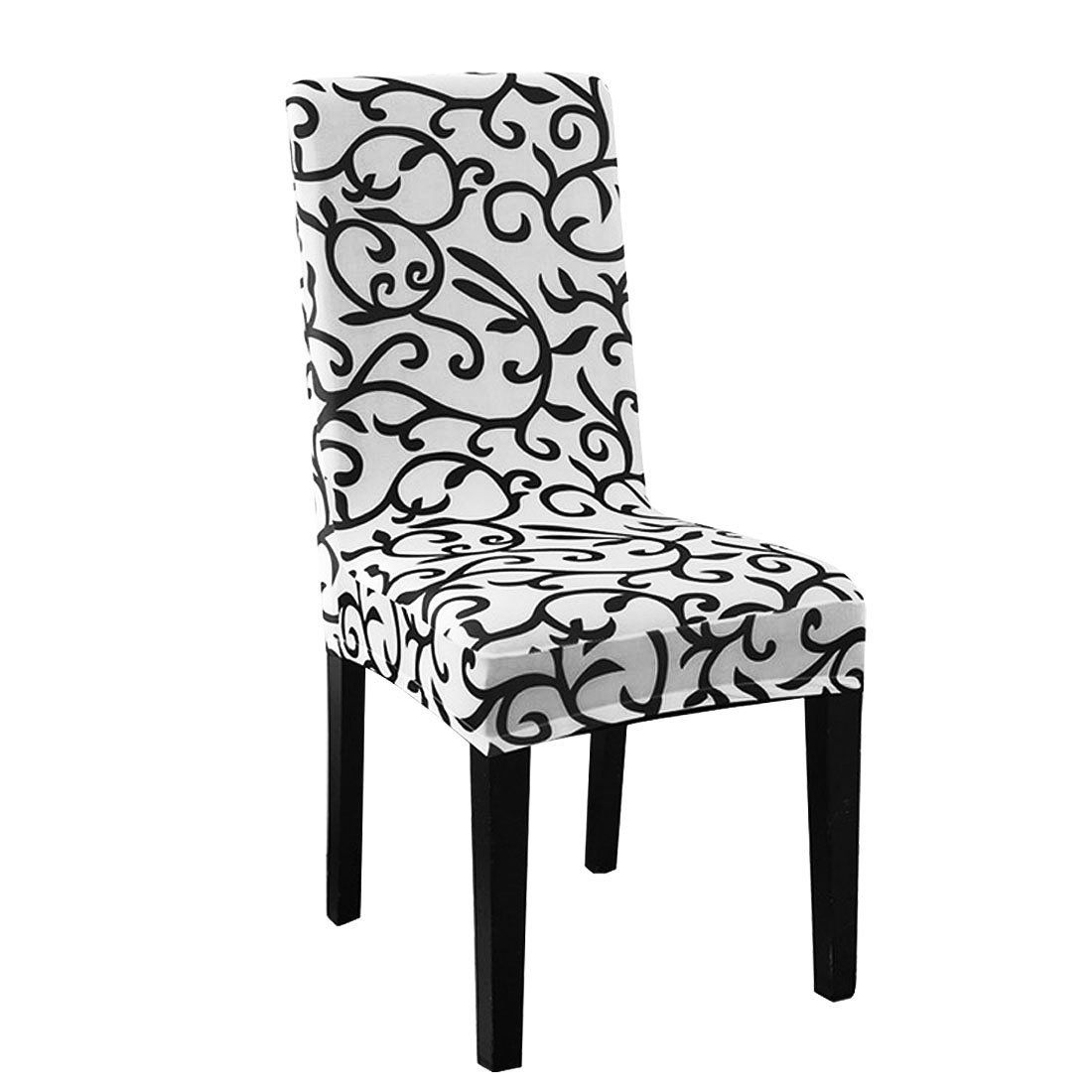 Table & Sofa Linens Steady Stretchy Dining Chair Cover Short Chair Covers Washable Protector Seat Slipcover For Wedding Party Restaurant Banquet Home Dec