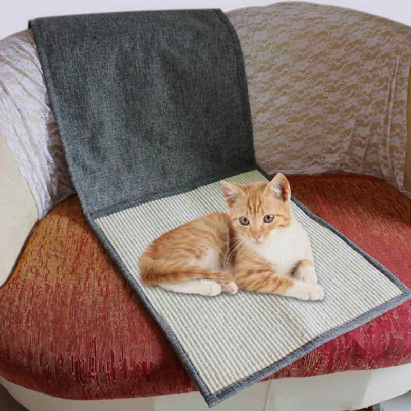 Furniture & Scratchers Able Scratching Board Mat Pad Cat Loop Carpet Scratcher Indoor Home Furniture Table Chair Sofa Legs Protector Pet Toy