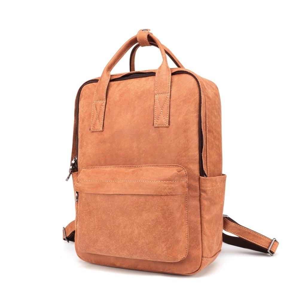 Vintage Men Backpack Cow Leather School Backpack Bag Fashion Waterproof Travel Bag Casual Leather Book Bags Male Laptop BagVintage Men Backpack Cow Leather School Backpack Bag Fashion Waterproof Travel Bag Casual Leather Book Bags Male Laptop Bag
