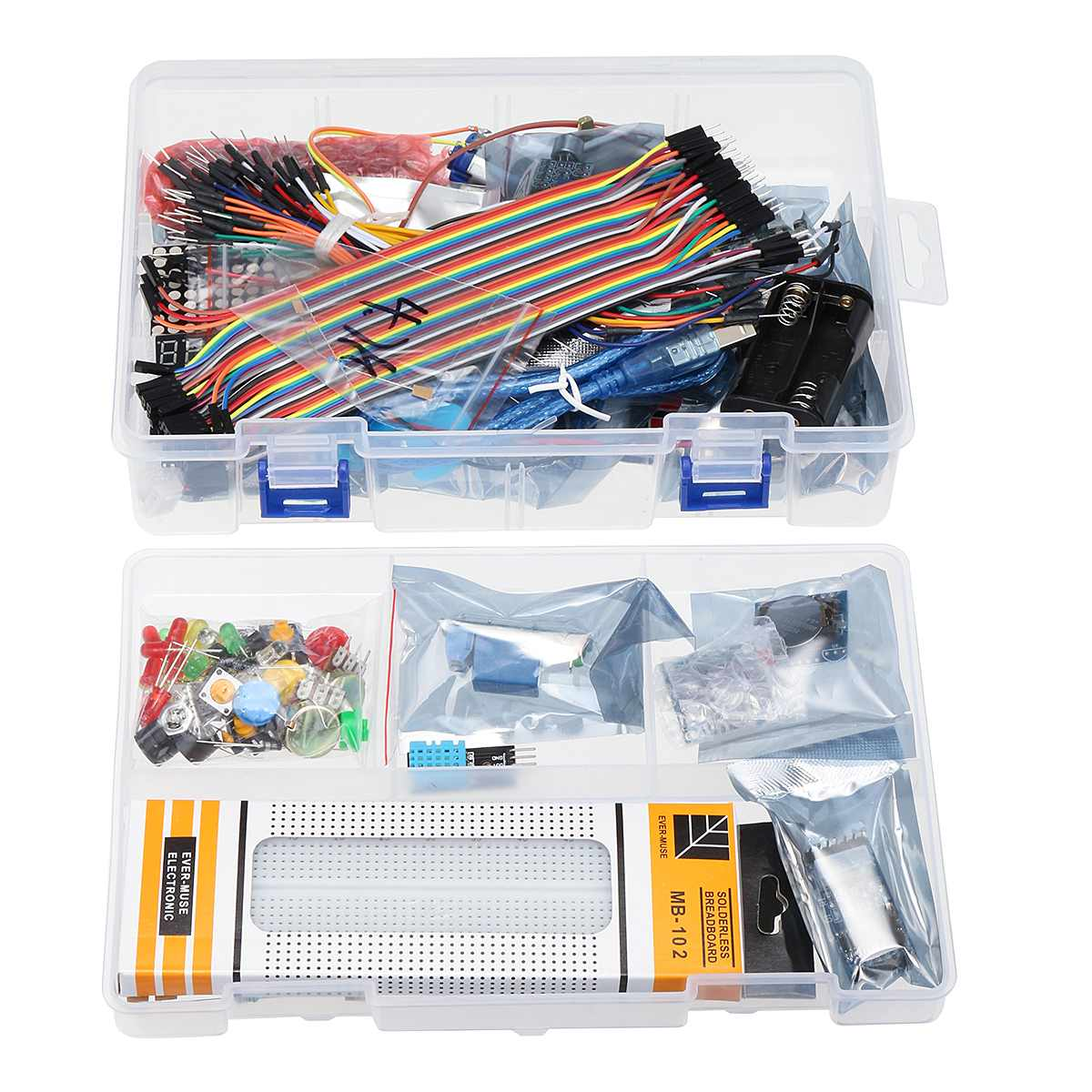 Pour UNO R3 Kit de démarrage avec OLED SPI bluetooth LCD1602 RTC DHT11 pour Version Arduino SMD - 3