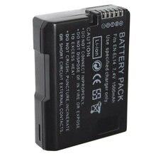 Batterie pour appareil photo Nikon, noir, 7.4V, 1500mAh, 1 pièce, pour appareil photo, ENEL14 EN EL14, EN-EL14, MH-24, D5200, D3100, D3200, D5100, P7000, P7100
