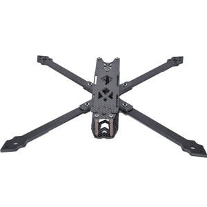 Image 4 - Shark x9 342mm distância entre eixos 4mm braço 9 Polegada 158g kit quadro de fibra carbono para rc modelos peças reposição diy acessórios