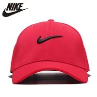 Nike Running Hat Breathable Peaked Cap Outdoor Sport Sunshade Cap
