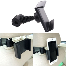 KISSCASE 360 Degrees Rotating Car Back Seat Headrest Phone Mount Holder Hanger for iPhone 7 8 6 6s plus XR XS MAX For Huawei