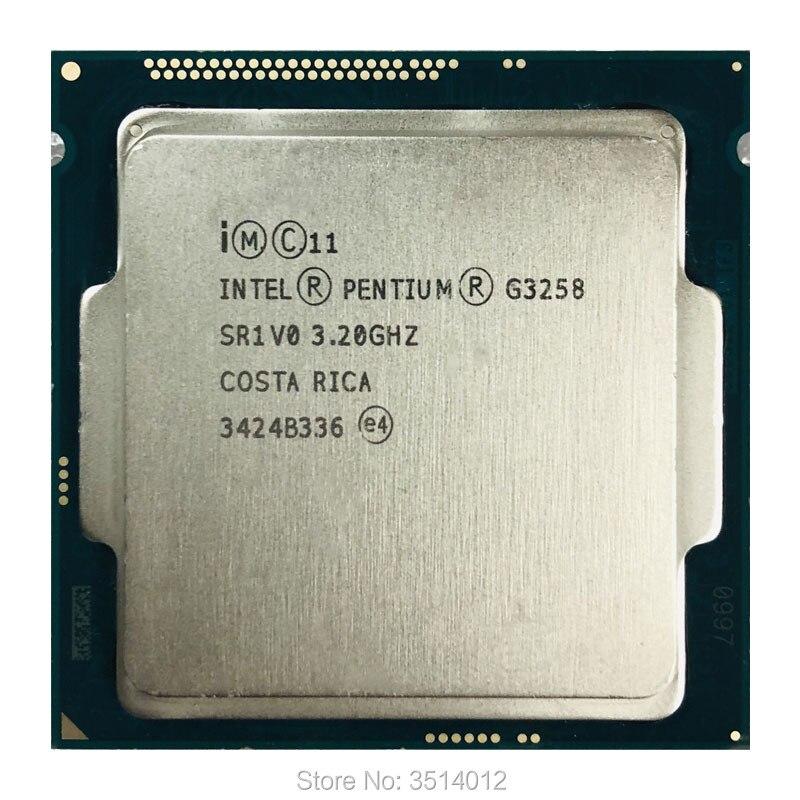 100% Wahr Intel Pentium G3258 3,2 Ghz Dual-core Cpu Prozessor 3 Mt 53 Watt Lga 1150