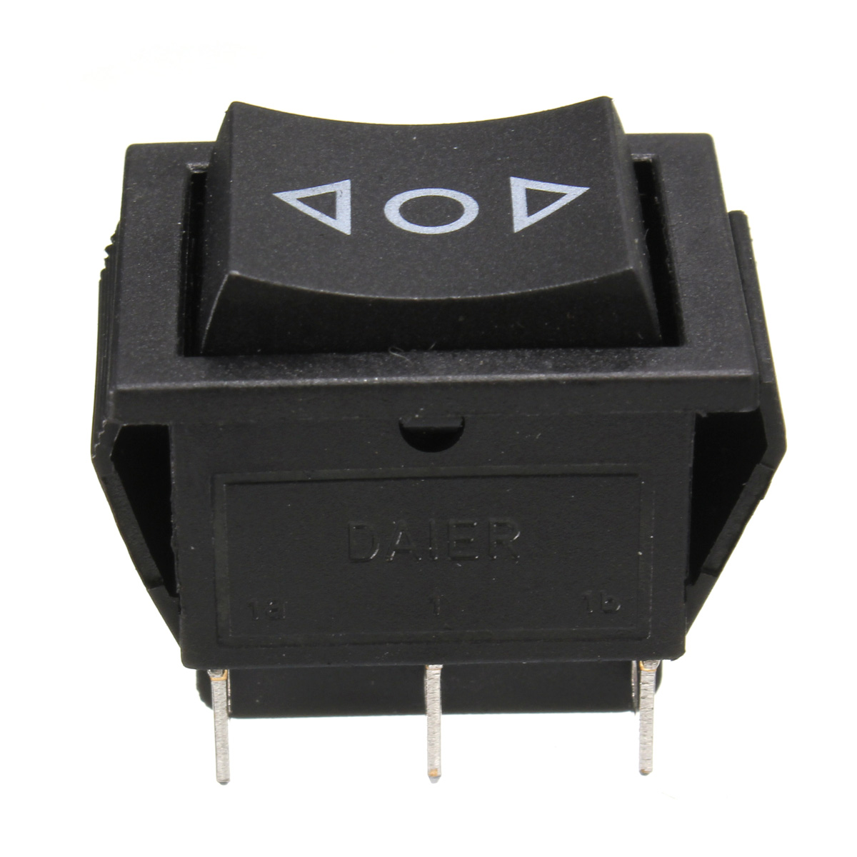 12 Volt 6-Pin DPDT Power Window Momentary Rocker Switch Control Button AC 250V/10A 125V/15A Car Power Window Switch image