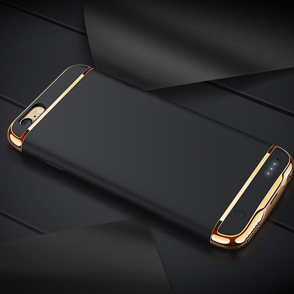 Boîtier de batterie de secours externe chargeur de téléphone Portable de puissance Mobile couverture de protection de mode pour iPhone 6/6 S 6/6splus