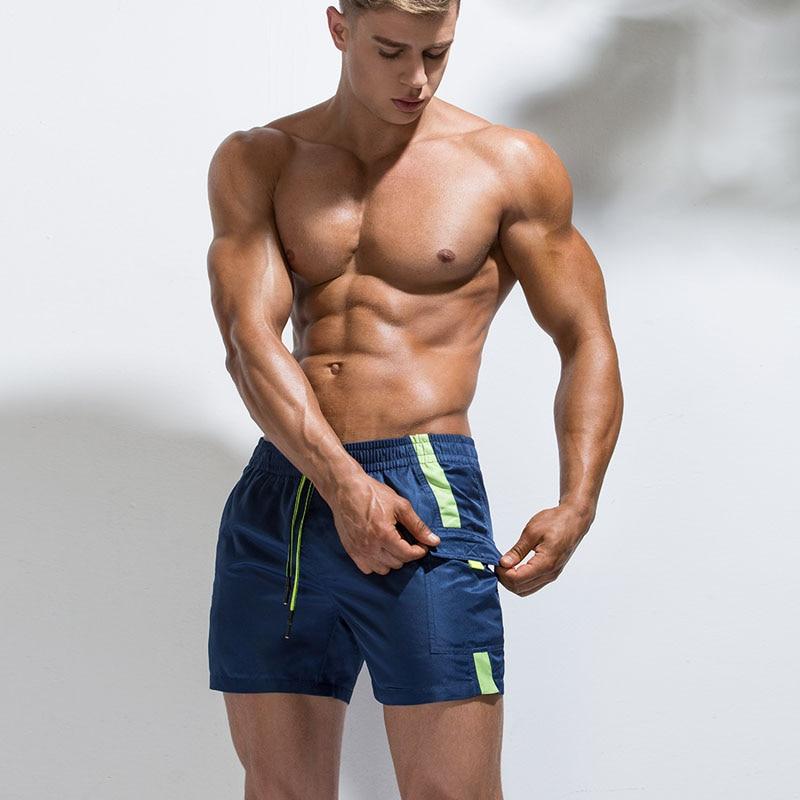 Fast Dry Men's   Board     Shorts   Summer Beach Surfing Man Swimming   Shorts   Multi-pocket Sport Running Hybrid Home   Shorts