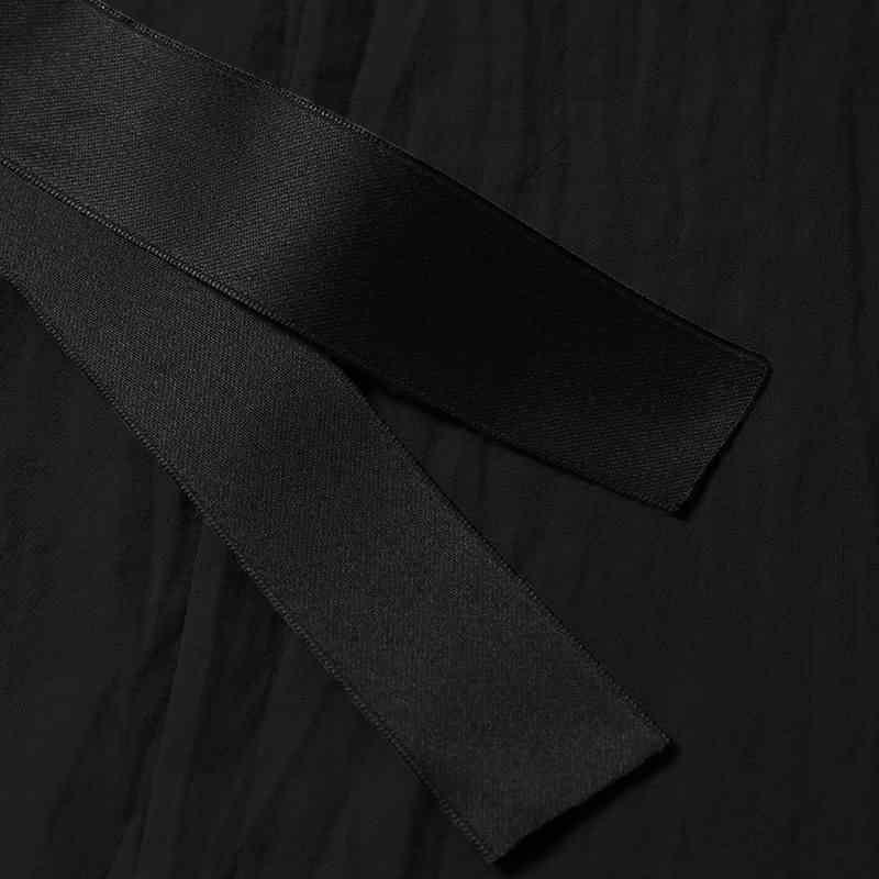 VONDA женское винтажное платье 2019 лето повседневные свободные однотонные v-образный вырез ремень с коротким рукавом платья сексуальные до середины икры Vestidos плюс размер 5XL
