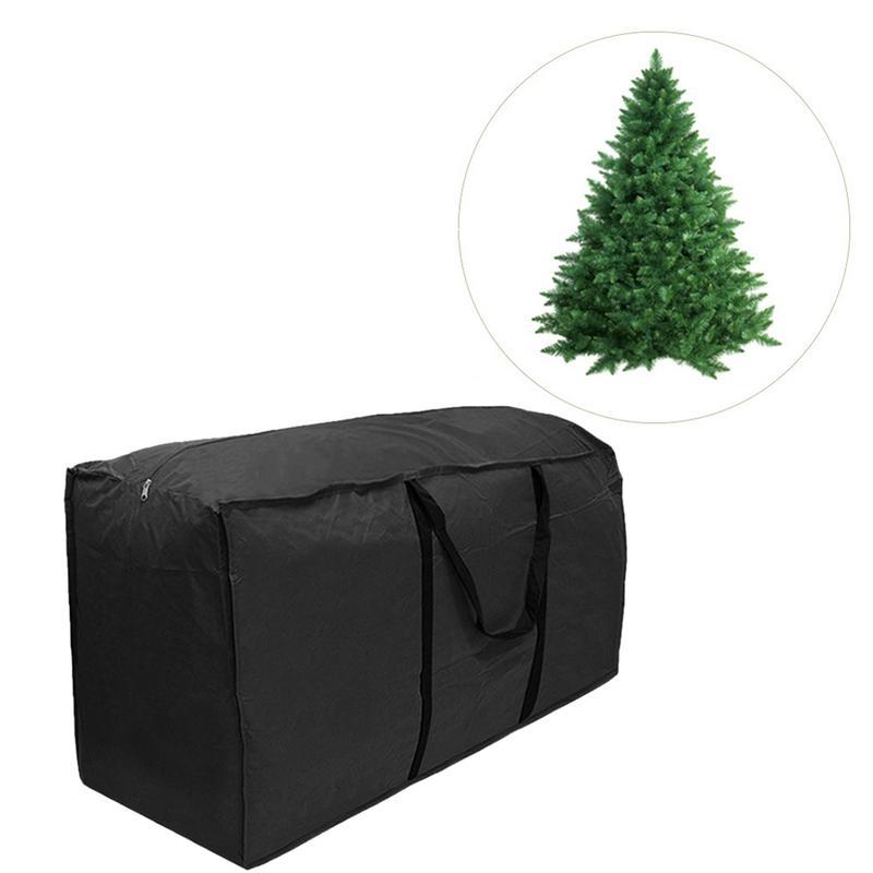 Cushion Storage Bag Super Large Heavy Duty Polyester Christmas Tree Storage Bag Green Outdoor Furniture Cushion Storage Bag