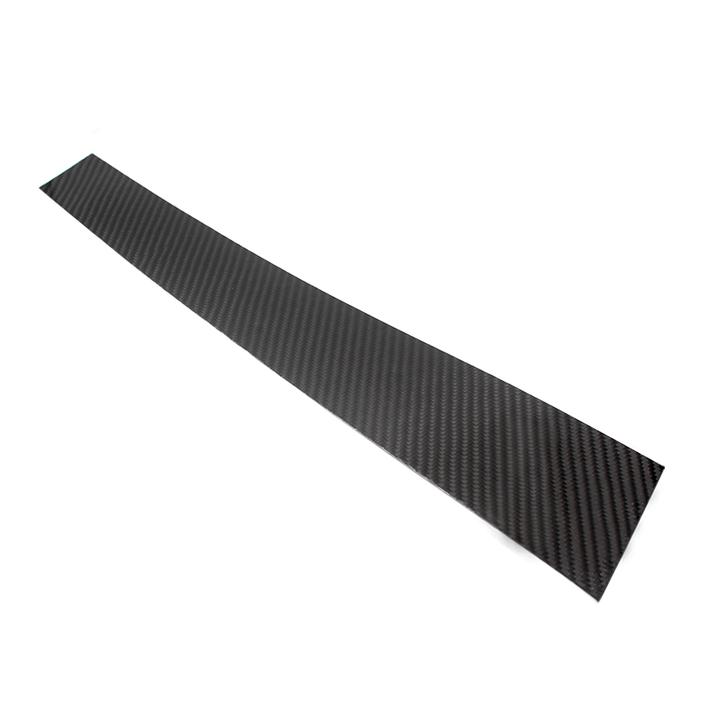 Image 2 - 6pcs Car Carbon Fiber Window B pillar Molding Decor Cover Trim For Mercedes Benz GLK Class 2008 2009 2010 2011 2012 2013-in Interior Mouldings from Automobiles & Motorcycles