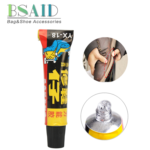 BSAID Super Adhesive Repair Glue For Shoe Leather Rubber Canvas Tube Strong Bond Gel 18ml Repairment Shoe Care Tool New Arrival