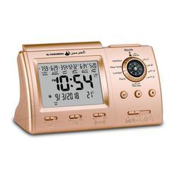Мусульманские настольные часы с будильником Adhan для всех городов исламский АЗАН ВРЕМЯ для молитвы с Qiblah Направление Temp и Hijir календарь