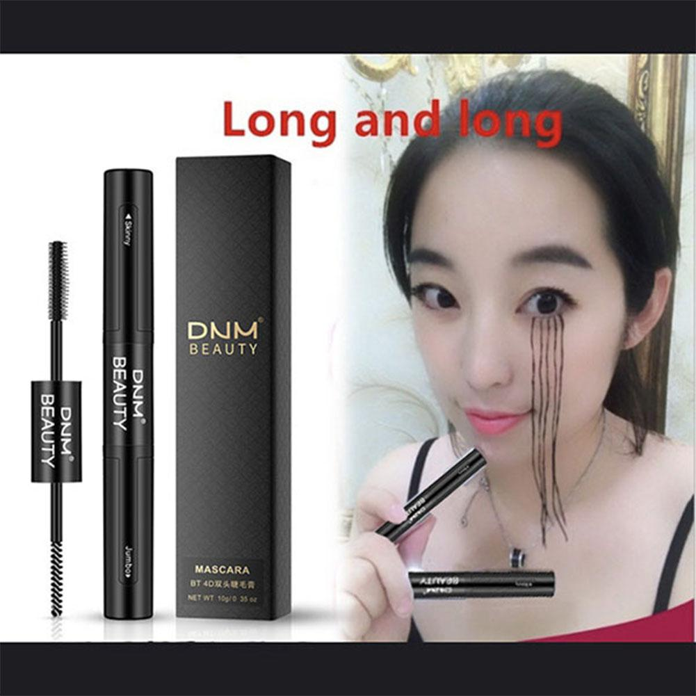 BellyLady 4D Fibre Long Cils Silicone Brosse Courbant Double Head Mascara Grafted Grow Waterproof Eye Lashes Extension Mascara