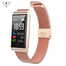 Купить с кэшбэком Luxury Women Smart Watch Sports Smart Bracelet X11 Smartband With Diamond Border  Women Fitness Tracker Heart Rate Sleep Monitor