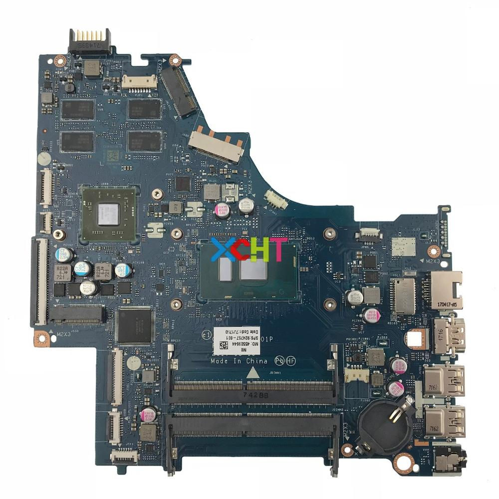 924757-601 924757-001 LA-E801P w 530/2GB Graphics LA-E801P w i7-7500U CPU for HP Laptop 15-BS Series NoteBook PC Motherboard