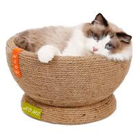 Large Sisal Cat Scratch Board Cat Scratch Kitten Mat Bowl shaped Mat Furniture Protector Cat Play Toys Fast Delivery