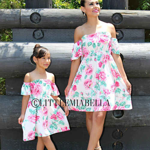 52a47ce7 Detail Feedback Questions about 2019 Fashion Flower summer Family ...