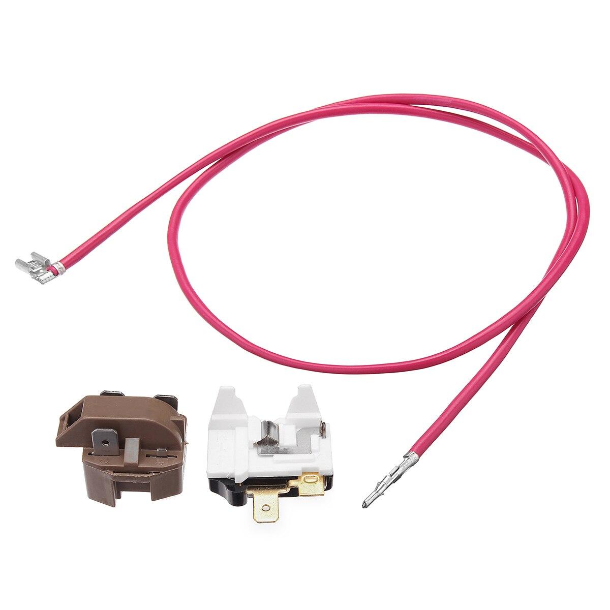 1set Refrigerator Relay Overload Kit With Tube Hosepipe