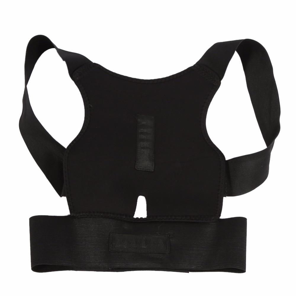 Ajustável para trás cinta postura corrector espinhal suporte cinto ombro bandagem correção lombar espartilho orthose para homem feminino