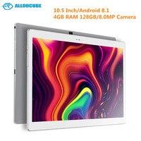 ALLDOCUBE X 10,5 дюймов Android 8,1 планшетный ПК MTK 8176 ШЕСТЬ Core 1,7 ГГц 4 Гб оперативная память 128 8.0MP камера отпечатков пальцев планшеты