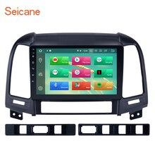 Seicane Android 8,1/8,0 ips экран для 2006-2012 hyundai SANTA FE gps навигация головное устройство с радио Поддержка рулевого колеса управление