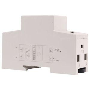 Image 4 - Szyna Din jednofazowy watomierz pobór mocy Watt elektroniczny licznik energii kWh 5 80A 230V AC 50Hz z funkcja resetowania