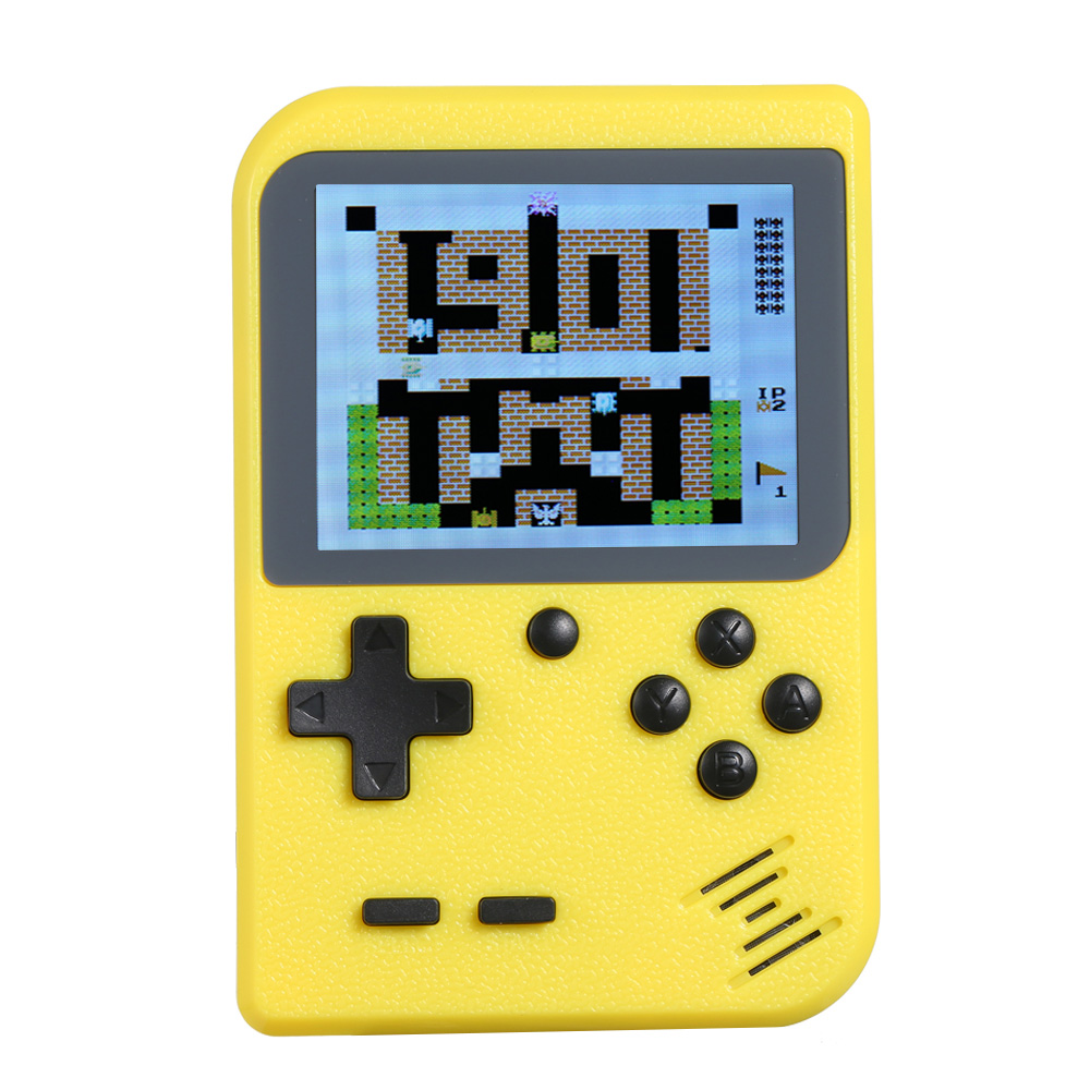 Game Console Portable 2.8in LCD 8 bit Classic Handheld Game Player Video Console Built-in 168 Retro Games