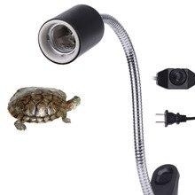 Aquarium Accessories 360 Degree Rotation Reptile Heat Light Stand Clip Turtle Durable